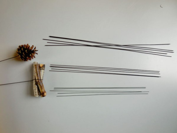 Wickel-, Steckdraht / 0,8mm, 5Stück, Grün