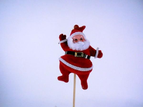 Weihnachtsmann, Stecker, 10cm
