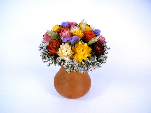 Strohblumenstrauß,Ø12cm, Ia